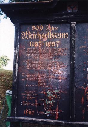 800 Years Weichselbaum
