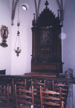 Chapel, ground floor