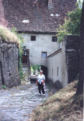 Evie at Riegersburg Schloss