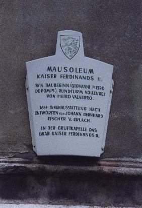 Mausoleum sign