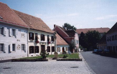 Side street in Bad Radkersberg
